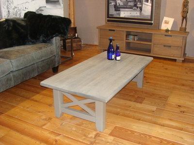 Salontafel grijs / grijs  135x70 cm