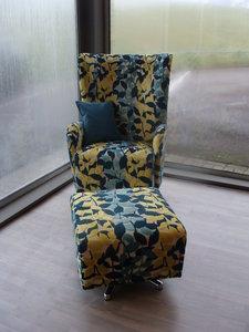 Draai / schommel fauteuil DUKE