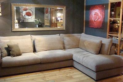Lounge bank 327 cm ( 123 ) / vanaf prijzen ( model foto 1699,- )